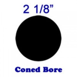Coned Bore: 2 1/8