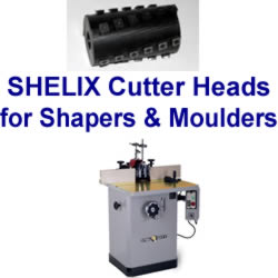 SHELIX Heads for Shapers and Moulders