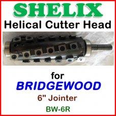 SHELIX for BRIDGEWOOD 6'' Jointer, BW-6R