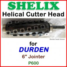 SHELIX for DURDEN 6'' Jointer, P600