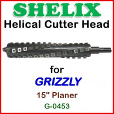 SHELIX for GRIZZLY 15'' Planer, G-0453