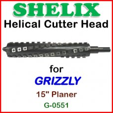 SHELIX for GRIZZLY 15'' Planer, G-0551