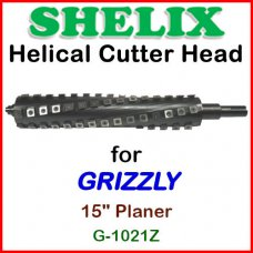 SHELIX for GRIZZLY 15'' Planer, G-1021Z
