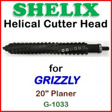 SHELIX for GRIZZLY 20'' Planer, G-1033