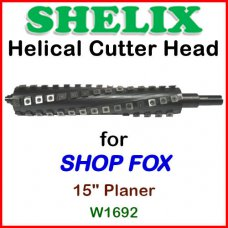 SHELIX for SHOP FOX 15'' Planer, W1692