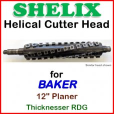 SHELIX for BAKER 12'' Planer, 12