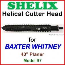 SHELIX for BAXTER WHITNEY 40'' Planer, Model 97