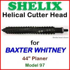 SHELIX for BAXTER WHITNEY 44'' Planer, Model 97