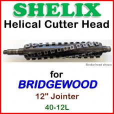 SHELIX for BRIDGEWOOD 12'' Jointer, 40-12L