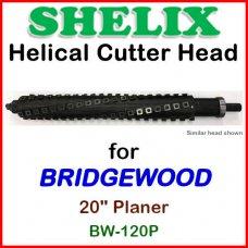 SHELIX for BRIDGEWOOD 20'' Planer, BW-120P