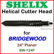 SHELIX for BRIDGEWOOD 24'' Planer, BW-124P