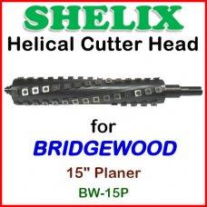 SHELIX for BRIDGEWOOD 15'' Planer, BW-15P