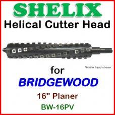 SHELIX for BRIDGEWOOD 16'' Planer, BW-16PV