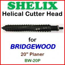 SHELIX for BRIDGEWOOD 20'' Planer, BW-20P