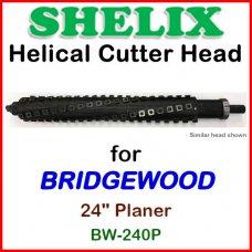 SHELIX for BRIDGEWOOD 24'' Planer, BW-240P