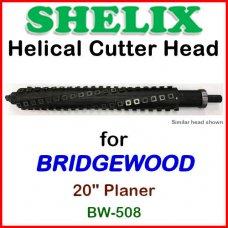 SHELIX for BRIDGEWOOD 20'' Planer, BW-508