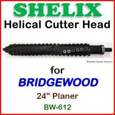 SHELIX for BRIDGEWOOD 24'' Planer, BW-612