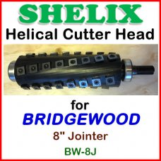 SHELIX for BRIDGEWOOD 8'' Jointer, BW-8J