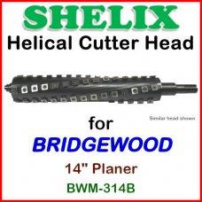 SHELIX for BRIDGEWOOD 14'' Planer, BWM-314B