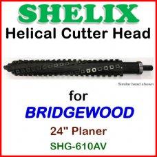 SHELIX for BRIDGEWOOD 24'' Planer, SHG-610AV