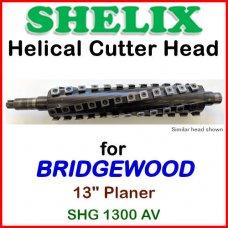 SHELIX for BRIDGEWOOD 13'' Planer, SHG 1300AV