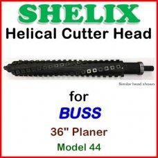 SHELIX for BUSS 36'' Planer, Model 44