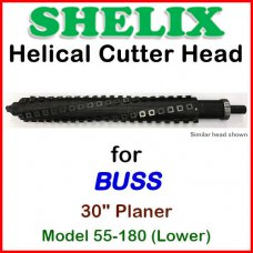 SHELIX for BUSS 30'' Planer, Model 55-180 (Lower)