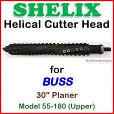 SHELIX for BUSS 30'' Planer, Model 55-180 (Upper)