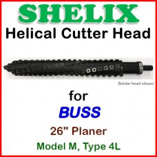 SHELIX for BUSS 26'' Planer, Model M, Type 4L