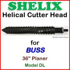 SHELIX for BUSS 36'' Planer, Model DL