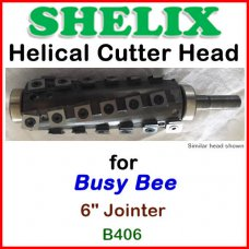 SHELIX for BUSY BEE 6'' Jointer, B406