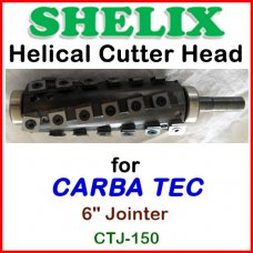 SHELIX for CARBA TEC 6'' Jointer, CTJ-150