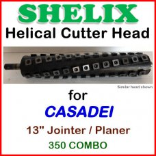 SHELIX for CASADEI 13'' Planer, 350 Combo
