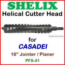 SHELIX for CASADEI 16'' Jointer, PFS-41 Jointer-Planer