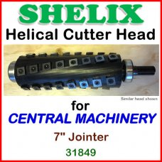 SHELIX for CENTRAL MACHINERY 7'' Jointer, 31849