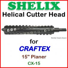 SHELIX for CRAFTEX 15'' Planer, CX-15