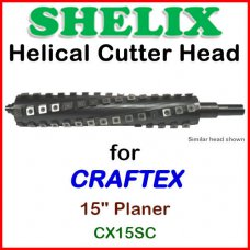 SHELIX for CRAFTEX 15'' Planer, CX15SC