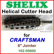 SHELIX for CRAFTSMAN (Sears) 6'' Jointer, 102.05600