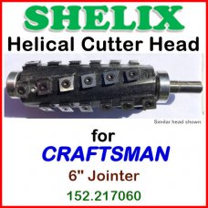 SHELIX for CRAFTSMAN (Sears) 6'' Jointer, 152.217060