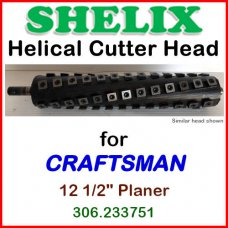 SHELIX for CRAFTSMAN (Sears) 12 1/2'' Planer, 306.233751