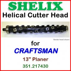 SHELIX for CRAFTSMAN (Sears) 13'' Planer, 351.217430