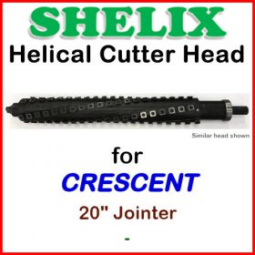 SHELIX for CRESCENT 20'' Jointer