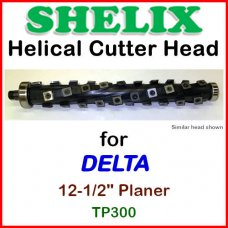SHELIX for DELTA 12-1/2'' Planer, TP 300 and TP 305