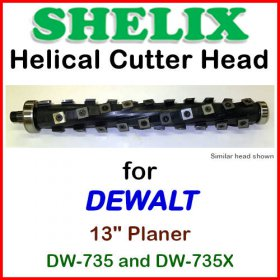 SHELIX for DEWALT 13'' Planer, DW-735