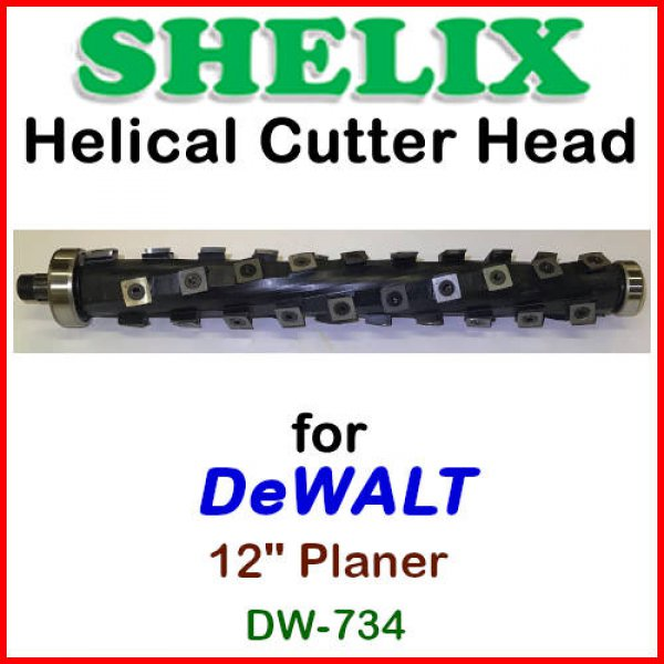 SHELIX Heads for Planers by DEWALT