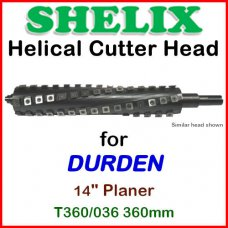 SHELIX for DURDEN 14'' Planer, T360-036 360mm