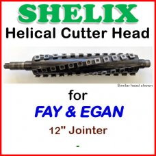 SHELIX for FAY & EGAN 12'' Jointer