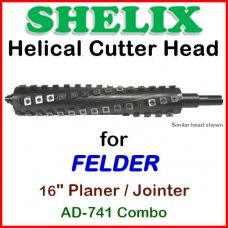 SHELIX for FELDER 16'' Jointer, AD-741 COMBO