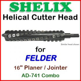 SHELIX for FELDER 16'' Planer, AD-741 COMBO