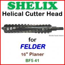 SHELIX for FELDER 16'' Planer, BF5 41